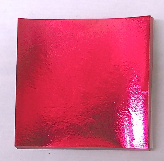 Fuchsia Candy Foil Wrappers Confectionery Foil 125 count