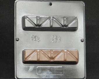 Fund Raiser Candy Bar Candy Mold for Chocolate Candy Making 145