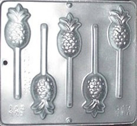 Pineapple Lollipop Chocolate Candy Mold  271 NEW