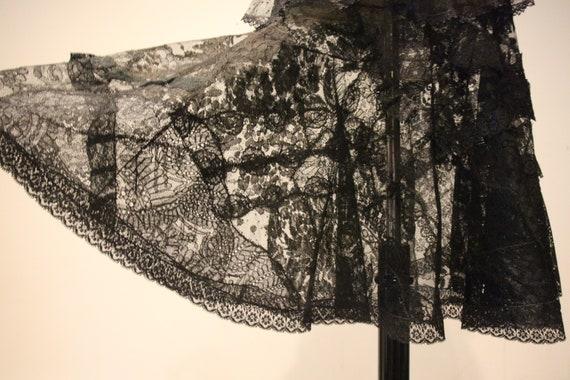Beautiful Vintage Handmade Lace Skirt-Vintage Lac… - image 5