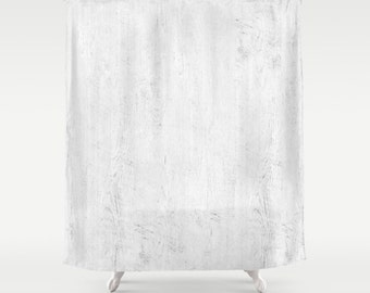 Shabby Chic Shower Curtain, White Shower Curtain, Boho Shower Curtain,  Cottage Chic, Romantic Decor, Vintage Shower Curtain, White