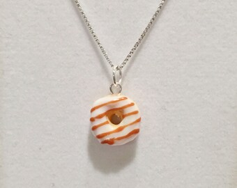 Miniature Donut - Polymer Clay Charm