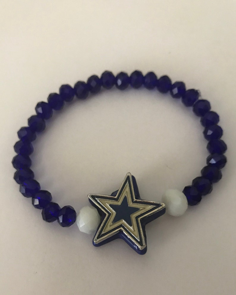 Set of 2 Little Girls /'Dallas Cowboys/' Bracelets