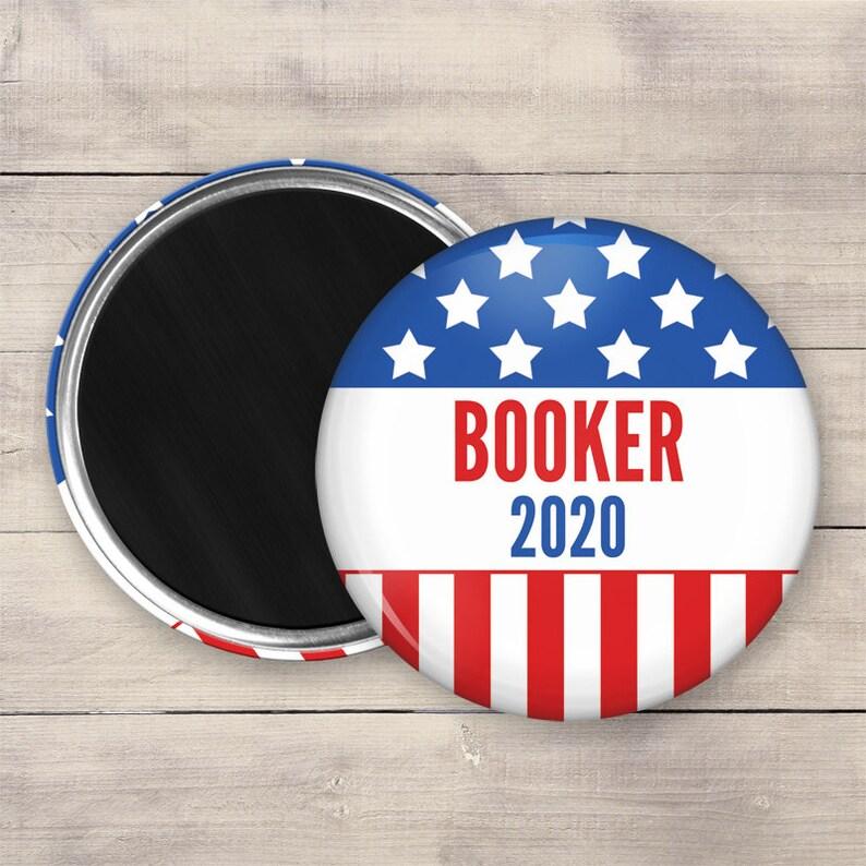 2.25 Booker Magnet 2020 Election Magnet Political image 0