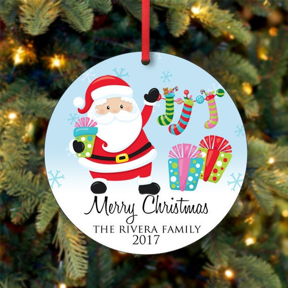 image 0 - Family Christmas Ornament Personalized Christmas Tree Etsy