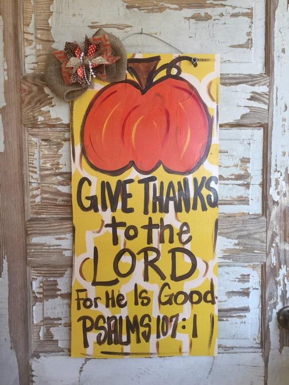 Autumn Door Sign Fall Door Hanger Personalized Door Decor Pumpkin Door Decor Thanksgiving Door Hanger Fall Wreath