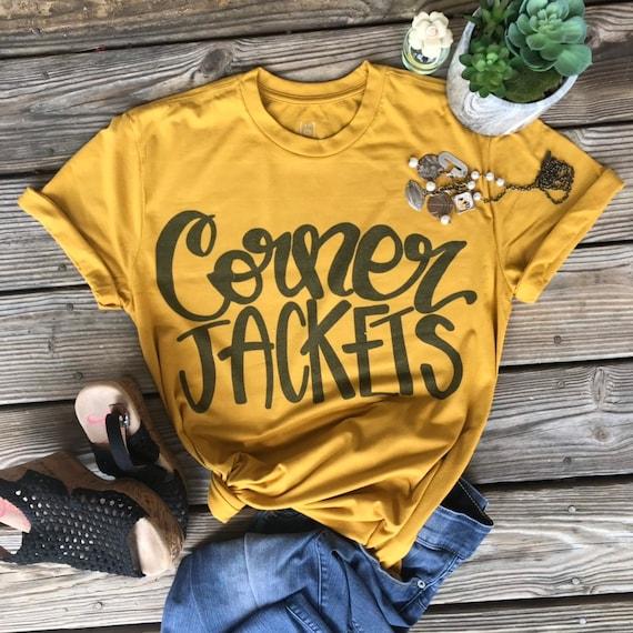 Personaliz Spiritwear Custom Football Shirt Football shirt JASPER Football Tshirt Football Fan Gear Football Mom Tee