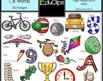 Magic 'e' i_e Words Clip Art Bundle