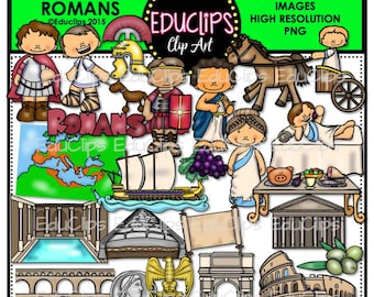 Ancient History - Romans Clip Art Bundle