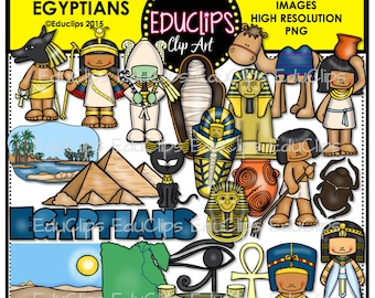 Ancient History - Egyptians Clip Art Bundle