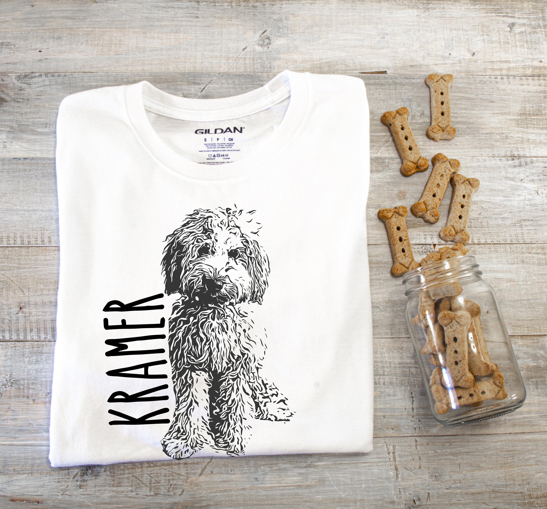 Personalized Doodle Tshirt  Labradoodle  Bernedoodle  Goldendoodle  Doodle  Dad Doodle Mom  Doodle Tshirt  Aussie Doodle  Sheepadoodle