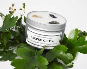 Sacred Grove Soy Wax Candle
