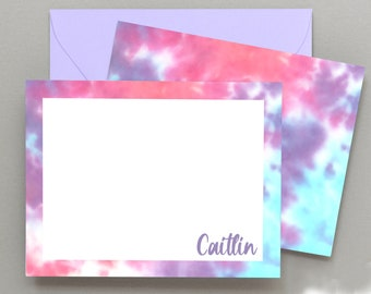 Personalized Note Cards for Kids \u2022 Kids Stationery \u2022 Customized Kids Thank You Cards \u2022  Girls Stationary Set \u2022 Cute Note Cards\u2022 Set of 10