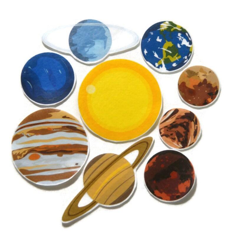 Felt Board Planets felt outer space homeschool preschool image 0