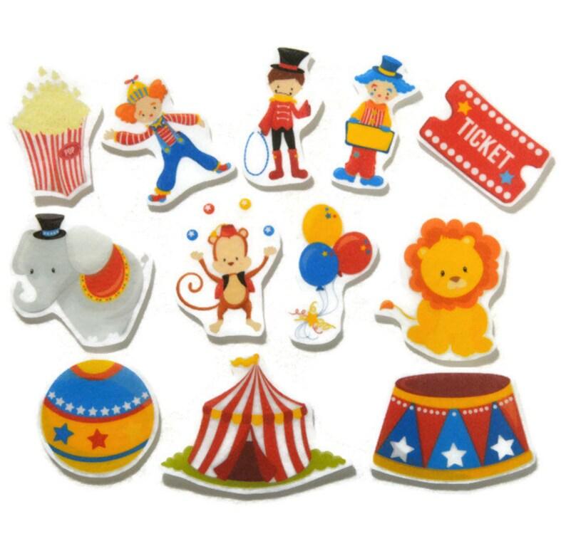 Circus Felt Board Flannel Board Felt Set Homeschool Busy image 0