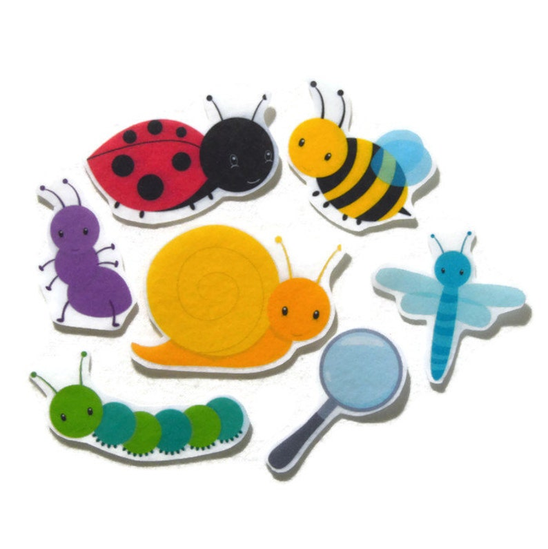 Felt board Felt Bugs Felt Insects homeschool felt board image 0