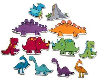 Felt board, Dinosaurs, homeschool, felt board pieces, flannel board, felt board story, quiet book, busy book, felt story dinosaur, storytime