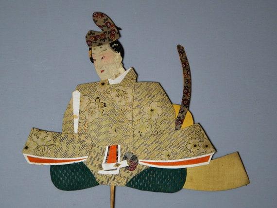 "6/""H Beautiful Handmade Collectible Japanese Prince Ornate Kimono Display Doll"
