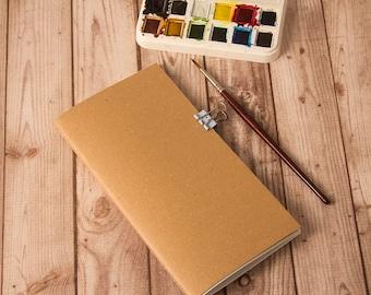 Sketchbook insert, Midori insert, Fauxdori. Travelers notebook, Midori notebook, Fauxdori inserts, Midori refill, Drawing insert