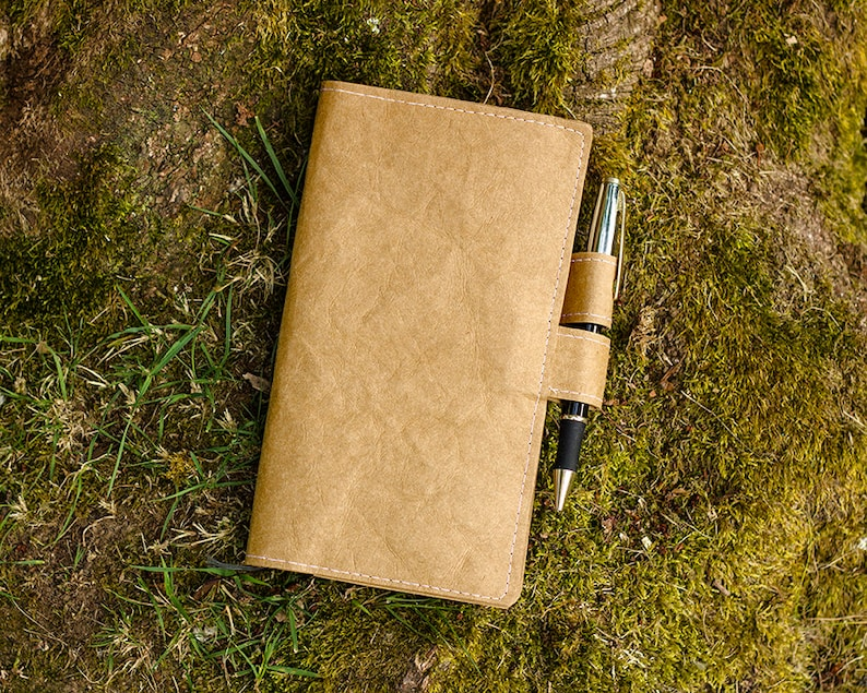 Eco friendly Hobonichi Weeks cover Hobonichi cover Washable image 0