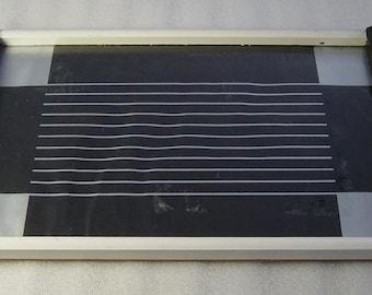Art Deco Bauhaus wooden serving tray