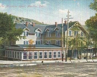 The Mansions Hotel Manitou Colorado Postcard