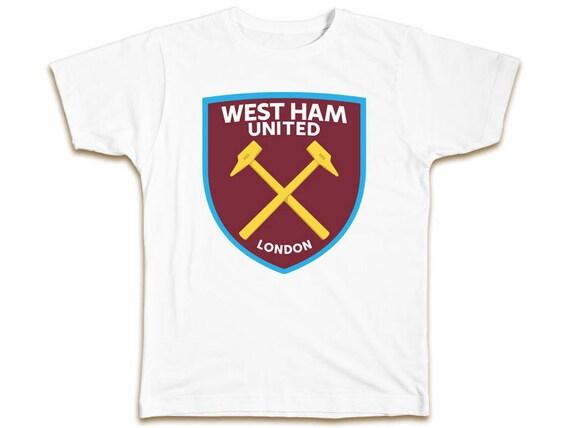 W.H.U. 2 Years Futbol Football Soccer T SHIRT West ham united 6848f0c76e96e