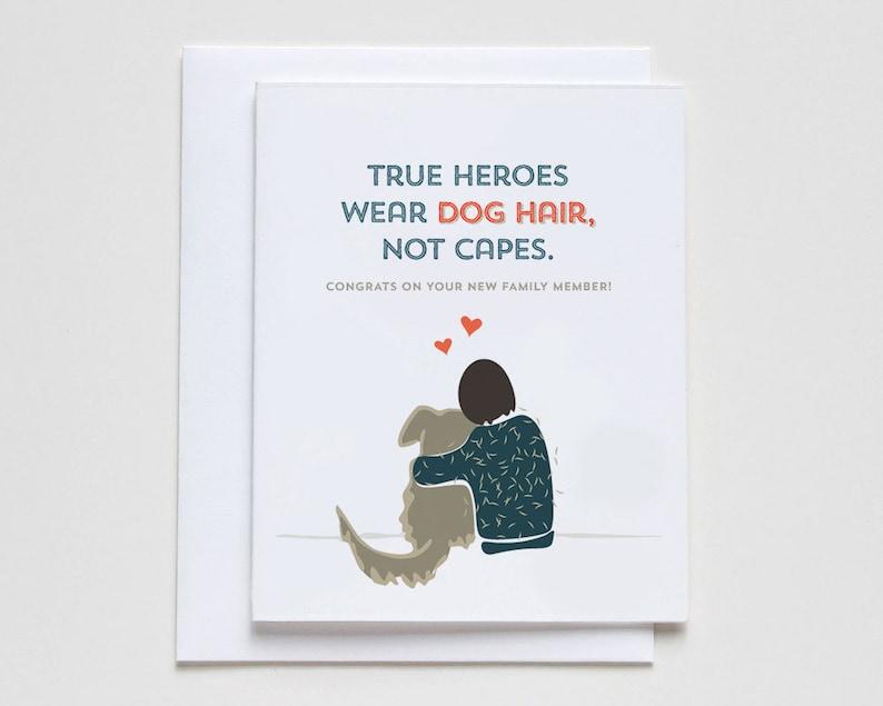 True Heroes Dog Adoption / New Pet Card 051. image 0