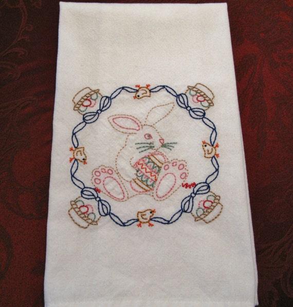 Embroidered Tea Towel/Kitchen Towel Dish Towel