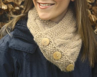 KNITTING PATTERN - Cairns Scarf (Snood/ Infinity Scarf)