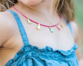 Girls Tassel Necklace