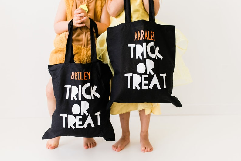 Personalized Trick or Treat Bags image 0