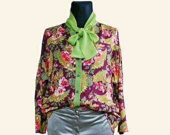 Women's blouse Flores. Gr. 42/46