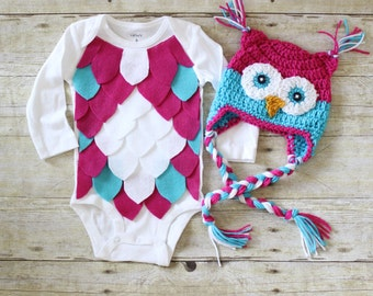 More colors. Baby Owl Costume ... & Owl costume | Etsy