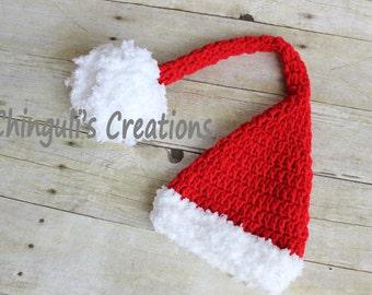 Items Op Etsy Die Op Lange Staart Elf Babymutsje Haken Kerstmuts