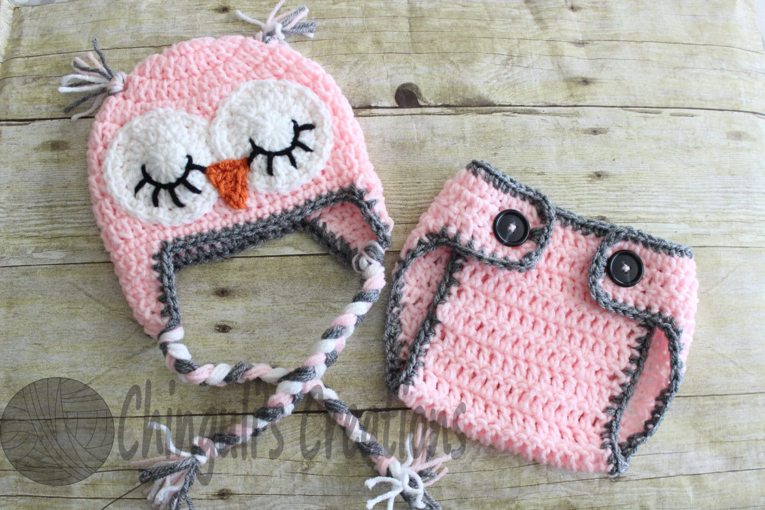 baby owl outfit crochet sleepy owl baby hat and matching etsy