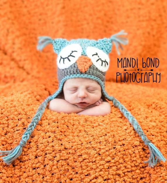 Crochet Owl Hat Owl Beanie Baby Boy owl hat baby owl hat  ecd5e17692bd