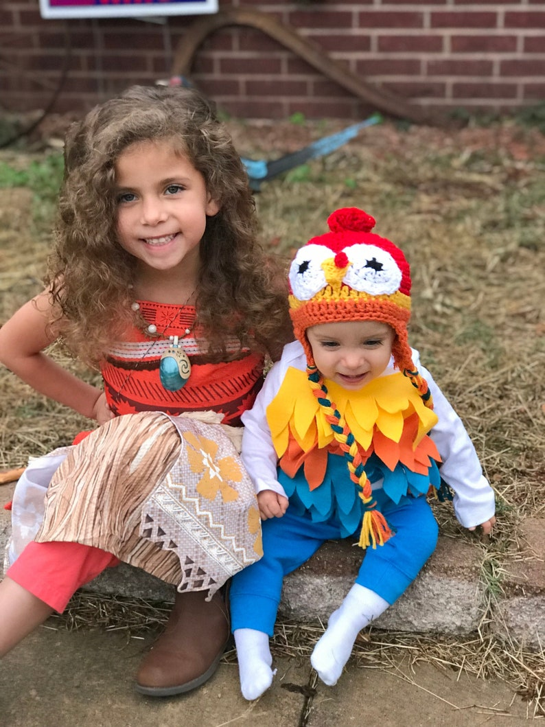 Baby Rooster Halloween Costume Baby Rooster Bodysuit and image 0
