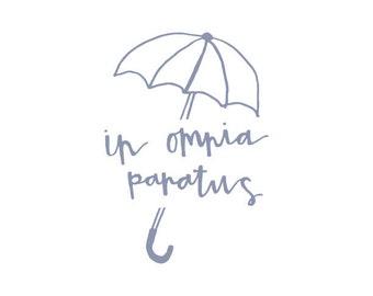 In Omnia Paratus Gilmore Girls print