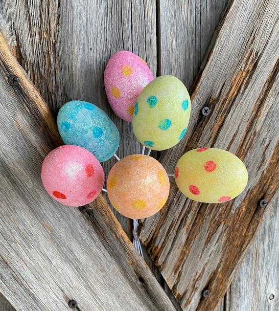 Pastel Polka Dot Egg 6 Pack
