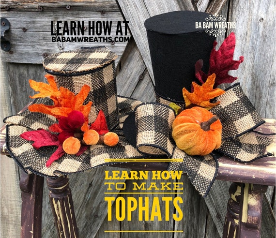 How To Video, How To Top Hat, Top Hat Tutorial, Top Hat Pattern