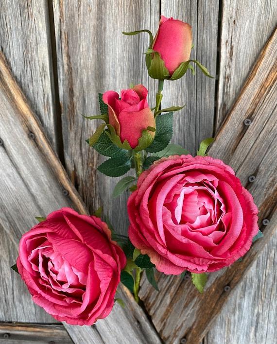Hot Pink Rose Spray
