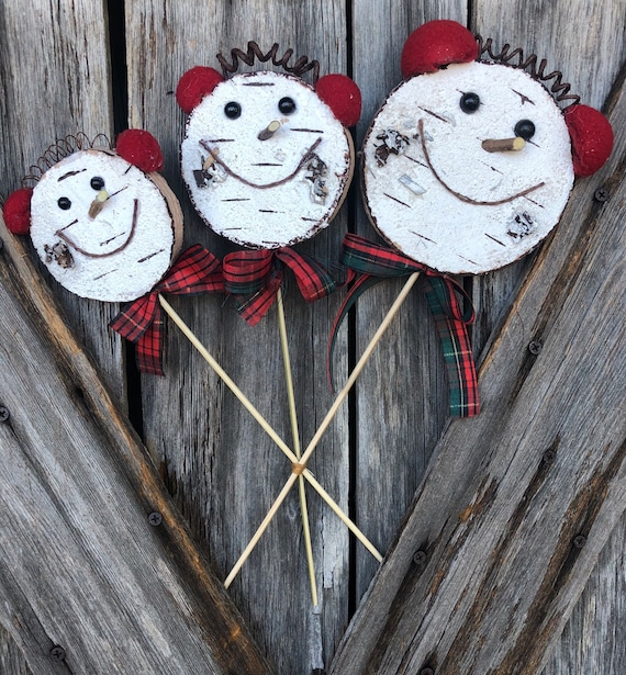 Wreath Supply, Rustic Snowman Spray