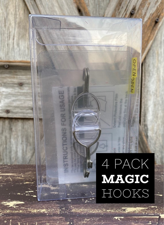 Magic Self Adhesive Hook 4 Pack
