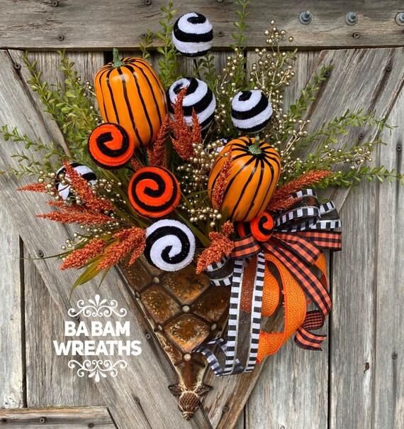 Fall Wreath, Fall Wall Hanging, Autumn Wall Hanging, Autumn Decor