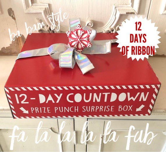 12 Days Of Ribbon, Ribbon