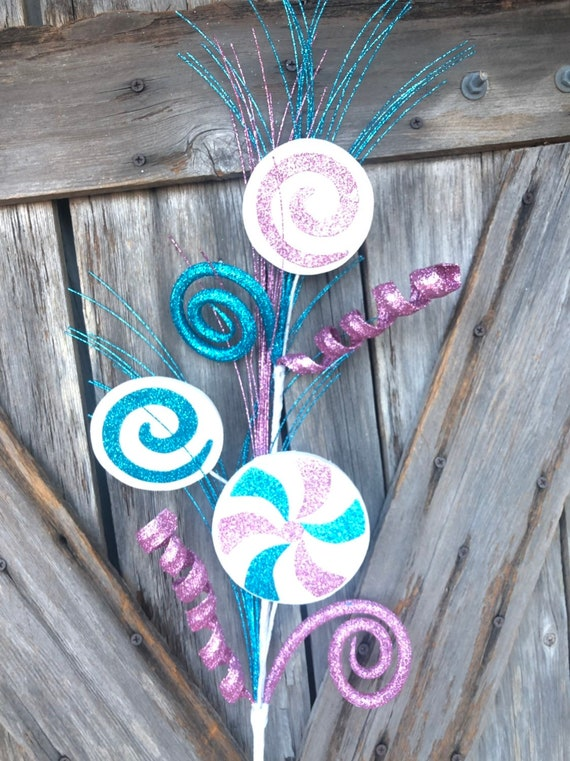 Wreath Supply,  Lollipop Curl Spray