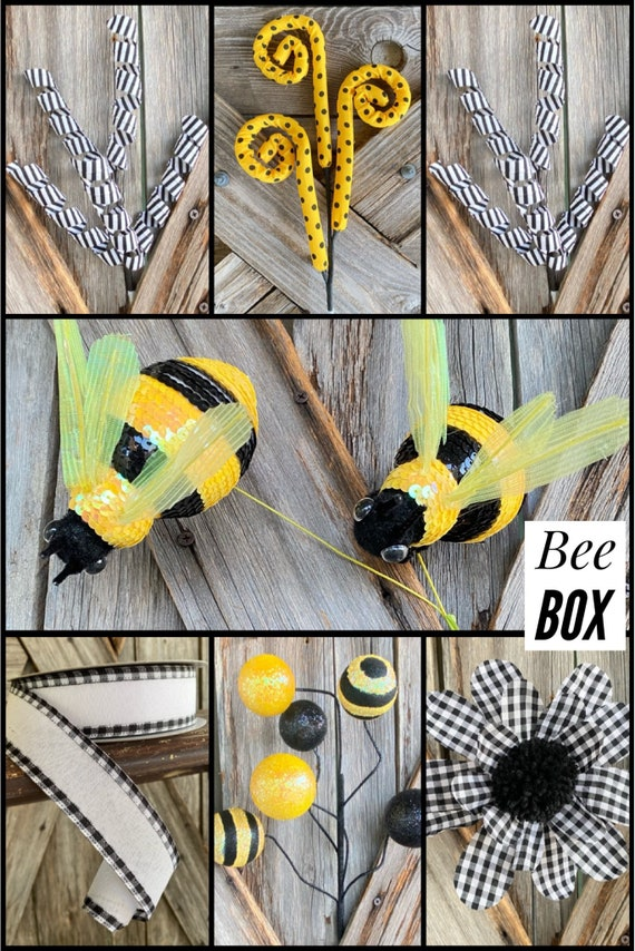 Bee Box, Wreath Supply, Floral