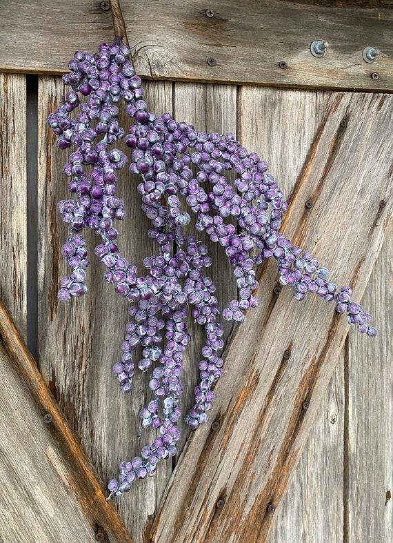 Weathered Purple Berry Spray ~ 1 Stems