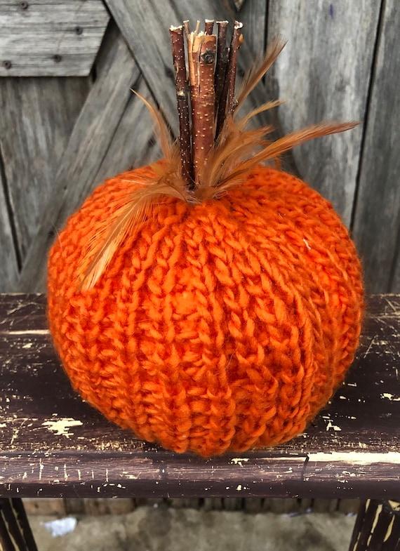 Pumpkin, Feathered Crochet